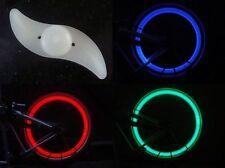 LED Fahrrad Speichenlicht bunt blau rot Beleuchtung Rad Speichen Licht Reflektor