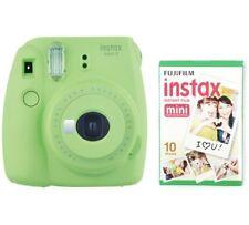 Fujifilm instax Mini 9 Instant Camera - Lime Green / With 10 shots Film