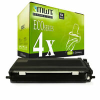4x MWT Eco Cartucho Compatible para Brother MFC-7440-W HL-2150-N DCP-7032