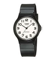 Casio Men's Black Resin Watch, Analog, Water Resistant, MQ24-7B2