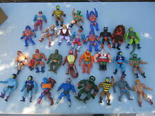 Masters of the Universe lot of 25+ figures He-Man Skeletor Prince Adam Beast Man