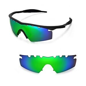 New WL Polarized Emerald Vented Replacement Lenses For Oakley M Frame Strike