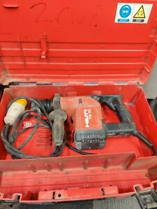 Hilti TE15 sds  rotary hammer drill used with  case 110v. Box 2