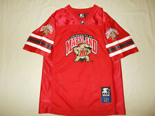 STARTER NCAA MARYLAND SHORT SLEEVE RED FOOTBALL JERSEY BOYS SMALL 8 EXCELLENT