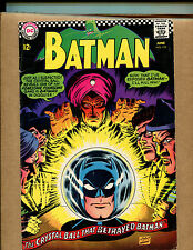 Batman #192 - Crystal Ball that Betrayed Batman- 1967 (Grade 4.0) WH