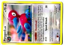 PROMO POKEMON STAFF PRERELEASE PORYGON2 N° 49/106