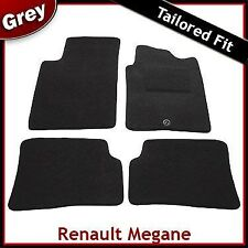 Renault Megane Coupe Cabriolet Tailored Fitted Carpet Car Mats GREY (1996-2003)