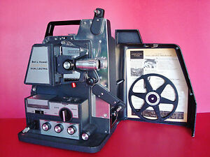 Bell & Howell Director Series Dual/Letric 8mm Projector w/ Roto Remote Control
