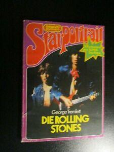 DIE ROLLING STONES+BRAVO BÜCHER STARPORTRAIT+Paperback+G. Tremlett+1976+121 Pgs.