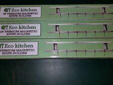 "New listing Lot of 3 Eco Kitchen 18"" Magnetic Knife holder"