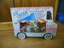 Ice Cream Toppings Truck Syrups & Sprinkles New