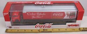 M2 COCA COLA 1957 FORD C-600 SEMI TRUCK +1957 FORD FAIRLANE 500 NIB