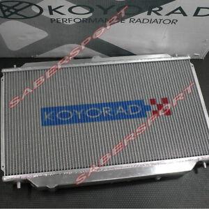 Koyo 36mm V-Core Aluminum Radiator for 08-15 Evolution X GSR MR/ 09+ Ralliart