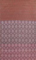 Wool/ Silk Modern Geometric Oriental Area Rug Contemporary Hand-tufted 6'x8' New