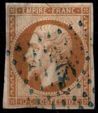 ANCRE Bleue sur NAPOLÉON 13A, TTB = Cote 175 € / Lot Classique France