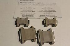 Dynex DB9 DB25 Serial Gender Changer Kit   DX-GCK