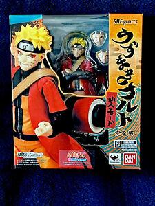 Naruto Uzumaki SH Figuarts Sage Sennin Mode Shippuden Bandai Authentic Tamashii