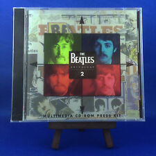 THE BEATLES: ANTHOLOGY 2, MEGA RARE 1996 PROMO MULTIMEDIA CD-ROM PRESS KIT