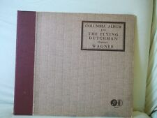 78 RPM 2 Record Columbia  Album  J:26 The Flying Dutchman Overture Wagner