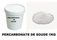 PERCARBONATE DE SOUDE SODIUM  BOITE DE 1 KG  DETACHANT BLANCHIT DETACHE LINGE