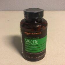Amazon Elements Men's One Daily Multivitamin - 65 Tablets Vegan GF