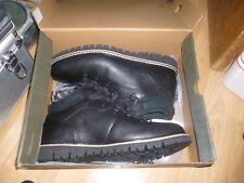 Mens Timberland Britton Hill Fleece  Black boots size 10.5