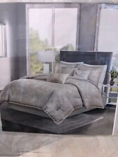 Madison Park Emory 7 Piece Cotton Sateen Comforter Set w/ decorative pillows