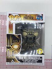 Funko Pop! Black Panther Erik Killmonger Glow in the dark Gitd #279 Exclusive D1