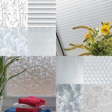 Fensterfolie 6?/m² Selbstklebefolie UV-Schutz Glasfolie Sichtschutz Mlichglas