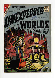 MYSTERIES OF UNEXPLORED WORLDS #10 VG+  ALL DITKO COVER & ART - RARE ISSUE 1958