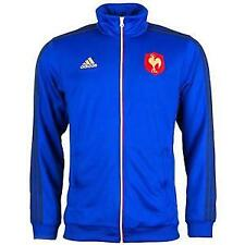 adidas France Rugby Mens Essentials Track Jacket - Blue size 2 XL