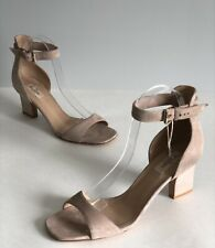 Valentino Suede Ankle Strap Sandals Size 41