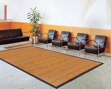 tappeto in bambù stuoia di bambù Colore SENSE in 14 Misure in rotondo o quadrato