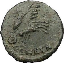 CONSTANTINE I 337AD Heaven CHARIOT Horse Ancient Roman Coin God  Hand i31723