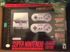 Super NES Nintendo Entertainment System SNES Classic Mini FREE PRIORITY SHIPPING