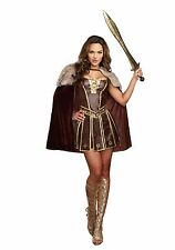"""VICTORIOUS BEAUTY"" MEDIEVAL ROMAN WARRIOR HALLOWEEN COSTUME WOMEN'S SIZE MEDIUM"
