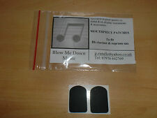 Bb / Eb CLARINET RUBBER MOUTHPIECE PATCHES (PACK OF 2) 8MM - JUST £2.45