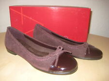 Aerosoles Shoes Size 10 M Womens New Bectify Dark Red Suede Flats