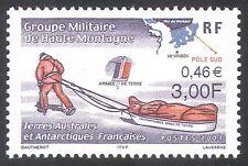 FSAT/TAAF 2001 Polar Expedition/Map/Army/Sledge/Transport/Military 1v (n27325)