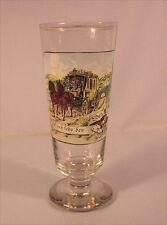 Rares altes Zunftglas Bayerischer Postilion um 1900