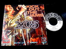 "MC5/KICK OUT THE JAMS/RARE FRENCH VOGUE 7"" SP"