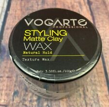 VOGARTE Hair Styling Clay Wax for Men Natural Hold Matte Finish 3.52 oz