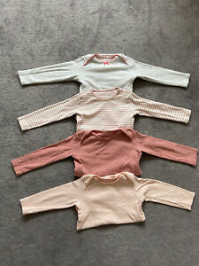 Baby Girl Long Sleeve Vest Bundle 12-18 Months