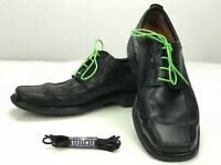 Clarks Unstructured Bicycle Toe Oxford Lace Up Black Leather Shoe Mens 11.5 M