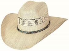 NEW - CROSSFIRE 20X Manhattan Straw Rodeo Western Cowboy Hat Bullhide Montecarlo