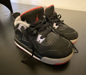 Nike Air Jordan 4 Bred Infant