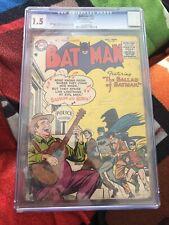 Batman #95 CGC 1.5 DC Comics Golden Age October 1955 The Ballad of Batman
