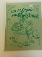 I'll Be Gnome for Christmas De Lane Tole Painting Patterns 1980 Vintage Booklet
