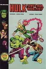 Hulk, Power Man & Iron Fist - Artima Color - Eds. Arédit - 1982