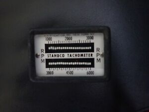 VTG Standco Tachometer Stitch Co. Vibrating Reed Hand Held 1,000-6,000 RPM